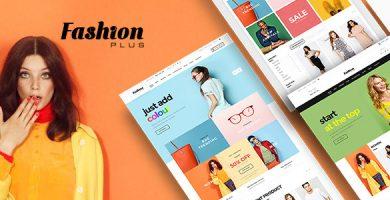 قالب Fashion Plus - پوسته وردپرس فروشگاه مد