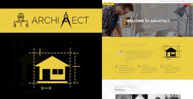 Architect - قالب وردپرس معماری ریسپانسیو