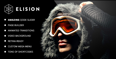الیژن  | Elision - قالب وردپرس چند منظوره رتینا