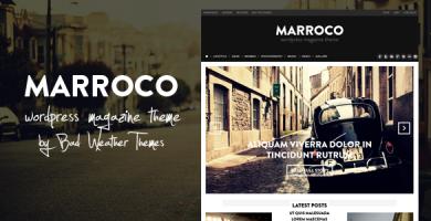 قالب Marroco - قالب مجله وردپرس