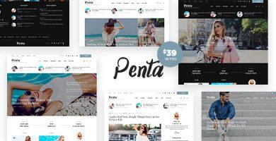 قالب Penta - قالب وردپرس بلاگ