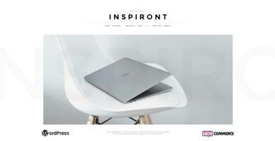 قالب Inspiront - قالب وبلاگ وردپرس