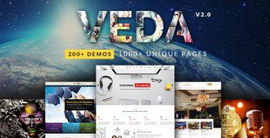 قالب VEDA - قالب چند منظوره