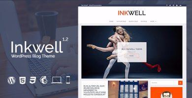 قالب Inkwell - قالب وبلاگ وردپرس