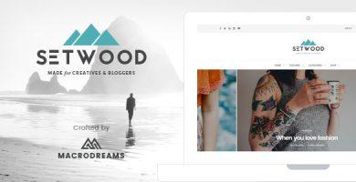 قالب Setwood - قالب وردپرس بلاگ و شاپ