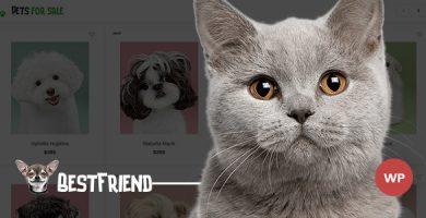 قالب Bestfriend - قالب فروشگاه حیوانات خانگی