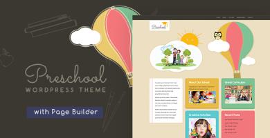 قالب Preschool - قالب وردپرس