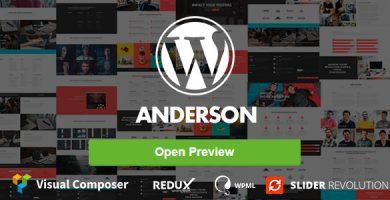 Anderson - قالب وردپرس چند منظوره