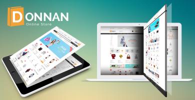 VG Donnan - قالب فروشگاهی چند منظوره