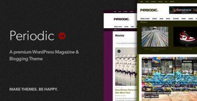 قالب Periodic - قالب وردپرس مجله پریمیوم
