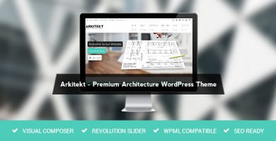 Arkitekt - قالب وردپرس معماری
