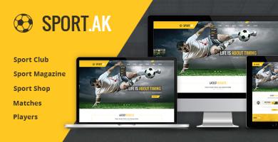 SportAK - پوسته وردپرس اسپرت