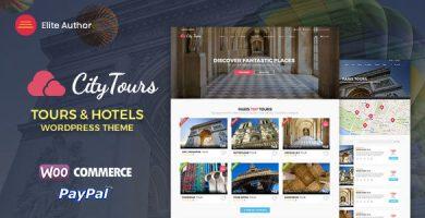 قالب سیتی تور | CityTours - قالب وردپرس آژانس مسافرتی و گردشگری