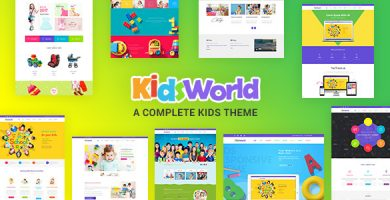 Kids Heaven - قالب وردپرس کودکان و نوجوانان
