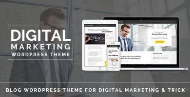 قالب Digital Marketing - قالب وردپرس وبلاگ