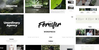 قالب The Forester - قالب وردپرس خلاقانه