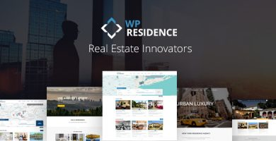 رزیدنس | Residence - قالب وردپرس املاک