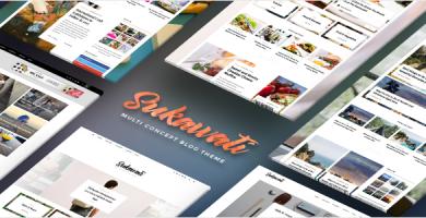 قالب Sukawati - قالب وردپرس بلاگ