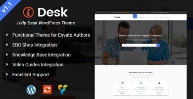 قالب iDesk - قالب وردپرس راهنما