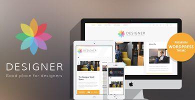 قالب Designer - قالب وردپرس وبلاگ
