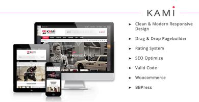 قالب KAMI - قالب وردپرس مجله ای و بلاگی