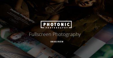 قالب Photonic - قالب تمام صفحه عکاسی
