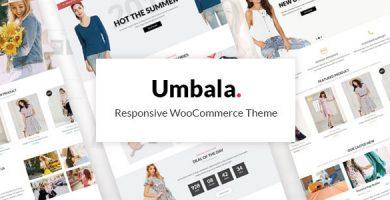 Umbala - قالب وردپرس فروشگاهی