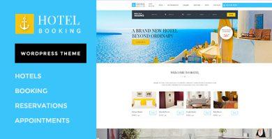 قالب Hotel Booking - پوسته وردپرس برای هتل ها