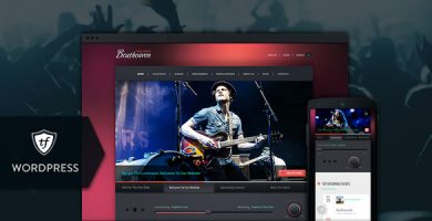 قالب Beatheaven - قالب وردپرس موسیقی