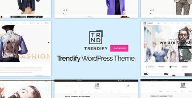 قالب Trendify - قالب وردپرس فروشگاه مد
