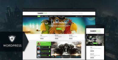 قالب Games Zone - قالب وردپرس بازی و گیمینگ
