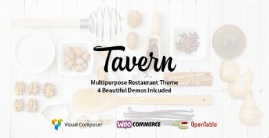 قالب Tavern - قالب رستوران برای وردپرس