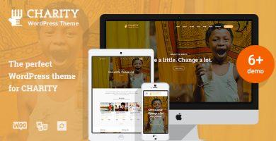 Charity WP - قالب وردپرس خیریه