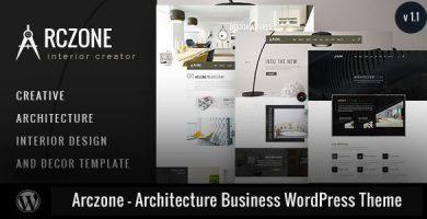 Arczone - قالب وردپرس معماری