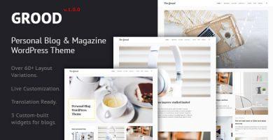 قالب Grood - قالب وردپرس وبلاگ شخصی و مجله