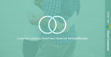 قالب Union - قالب وردپرس عروسی و رویداد