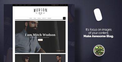 قالب Wudson - قالب وردپرس مجله ای و وبلاگ شخصی