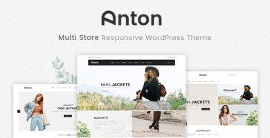 قالب Anton - قالب وردپرس فروشگاه چند منظوره