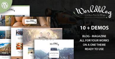 قالب Worldblog - قالب مجله و وبلاگ برای وردپرس