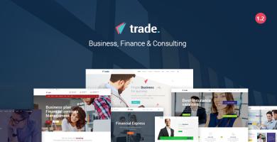 Trade - قالب وردپرس کسب و کار و سرمایه گذاری