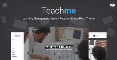 قالب Teachme - قالب سایت آموزش مجازی