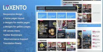 قالب Luxento - قالب وردپرس مجله