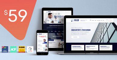 قالب گلوبال | Glb - قالب وردپرس شرکتی و فروشگاهی