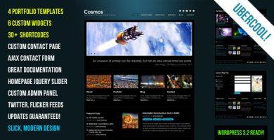 قالب Cosmos - قالب وردپرس خلاق