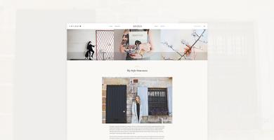 قالب Adoxa - قالب وبلاگ وردپرس