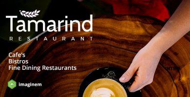 Tamarind - قالب رستوران برای وردپرس