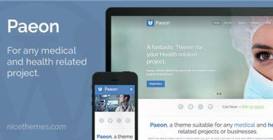 قالب Paeon - قالب وردپرس پزشکی