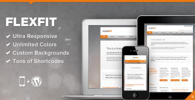 قالب FlexFit - قالب وردپرس کسب و کار ریسپانسیو