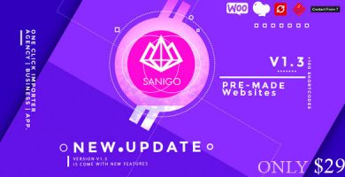 قالب Sanigo - قالب سایت تکنولوژی