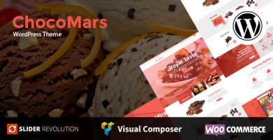 ChocoMars - قالب وردپرس چند منظوره